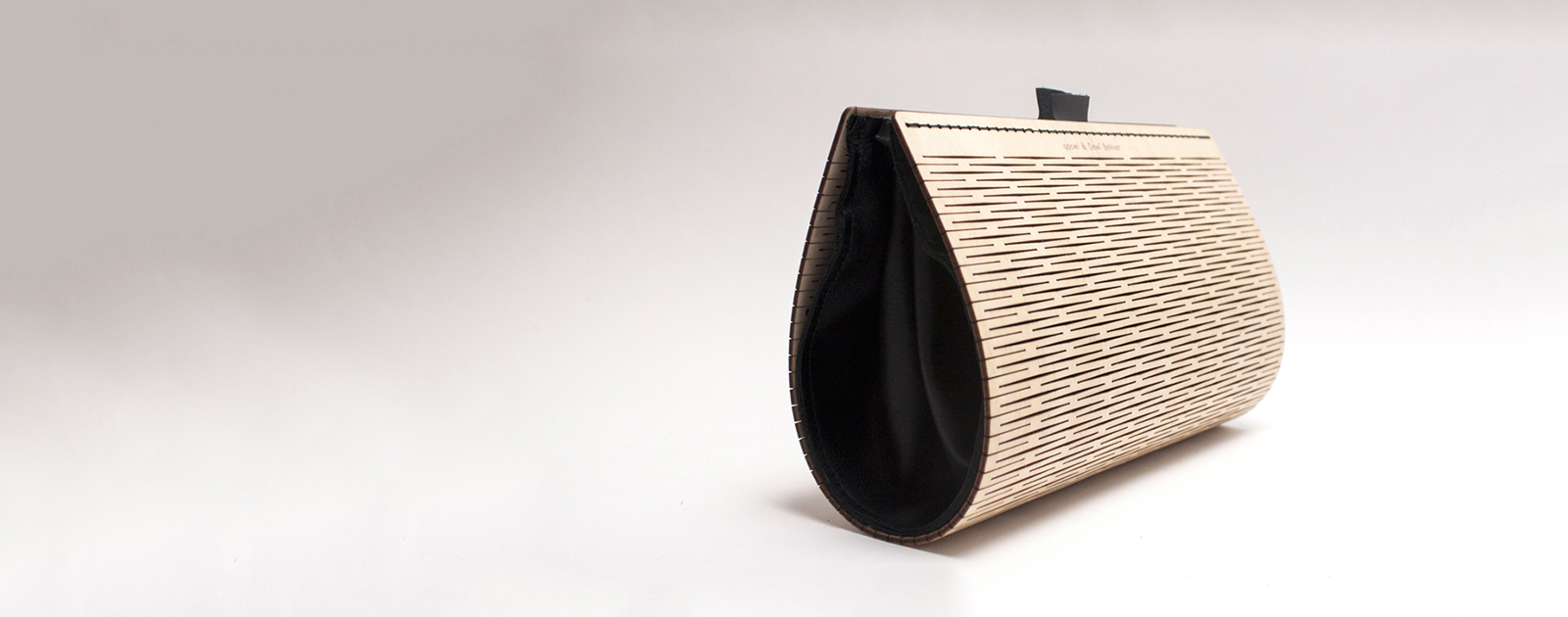 Bagagerie en bois et textile