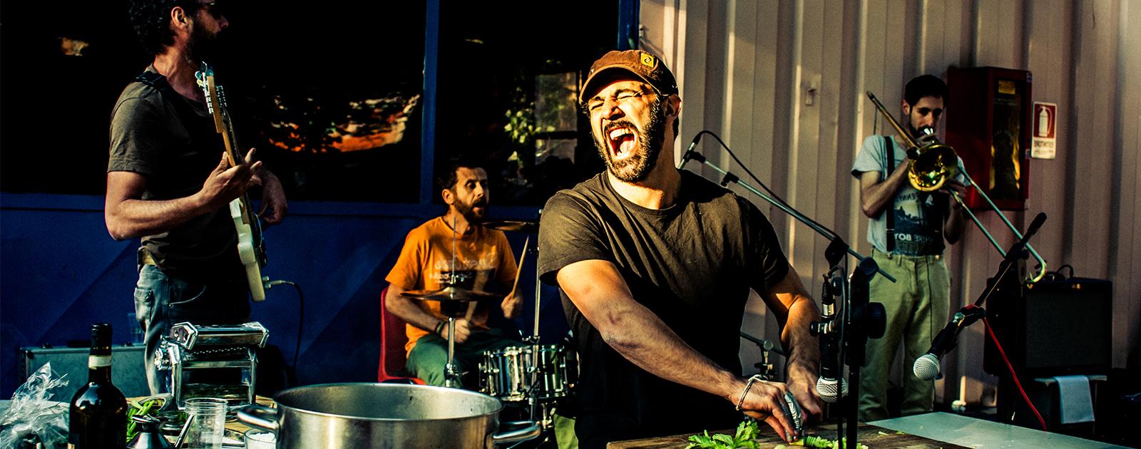 Don Pasta Food Sound System  – COOKING DJ SET