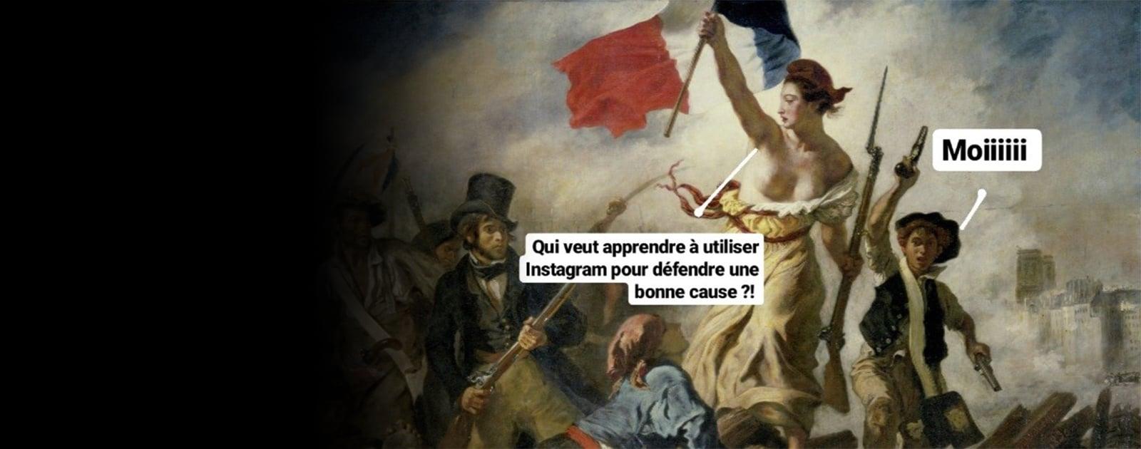 Crée ta story Instagram !