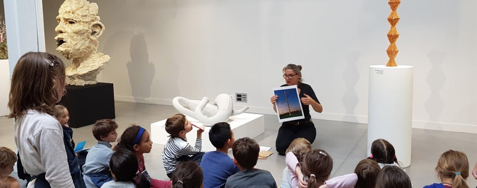 Visite-ateliers autour du Prix MAIF pour la Sculpture 2018