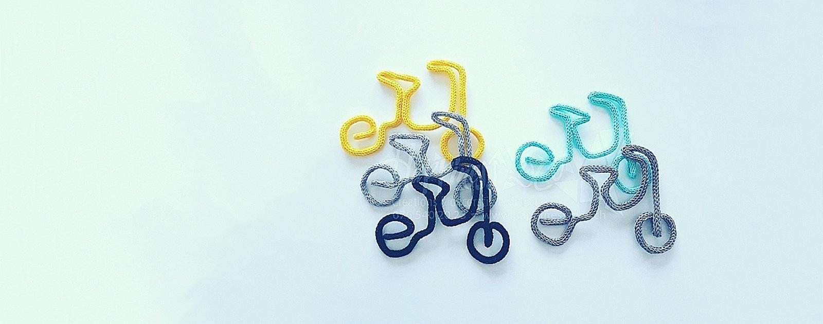 A bicyclette parce qu'avec Alphonse, ça fonce !