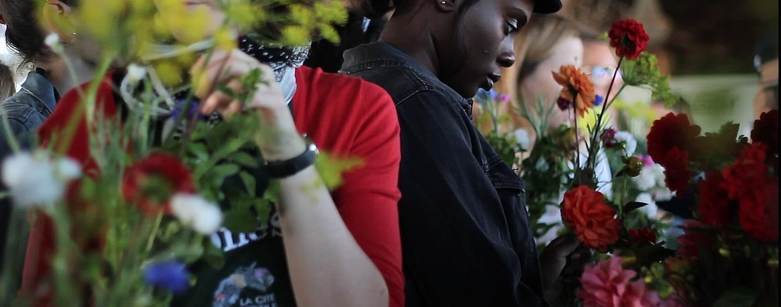 Bouquets comestibles avec Fleurivore