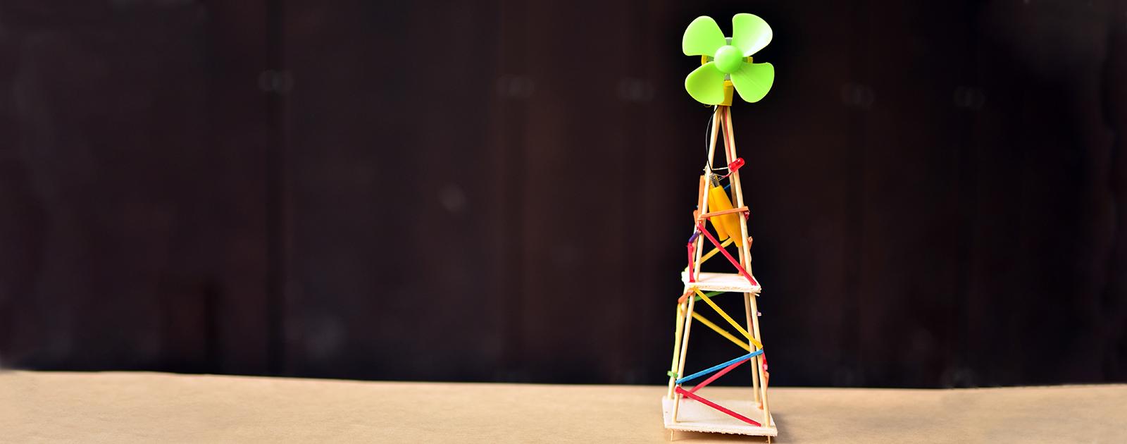 Fabrique ta mini éolienne