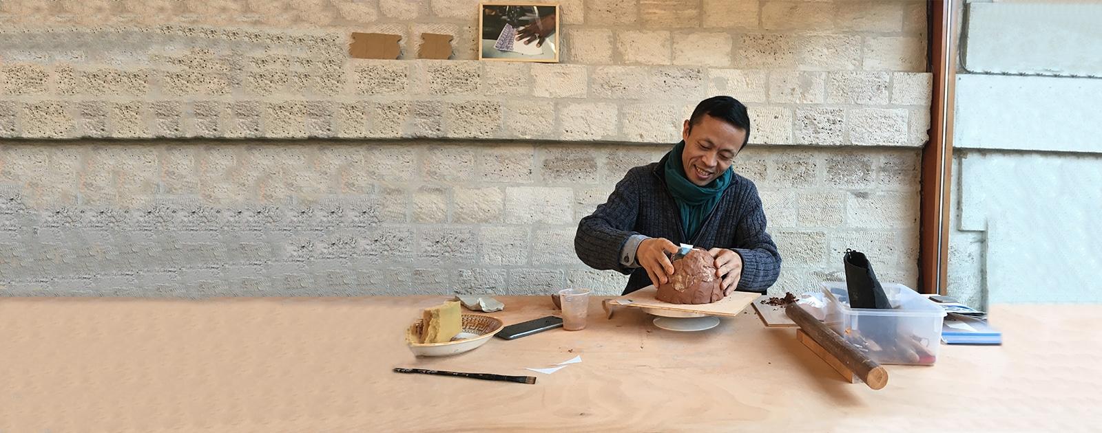 Atelier céramique avec Fayun