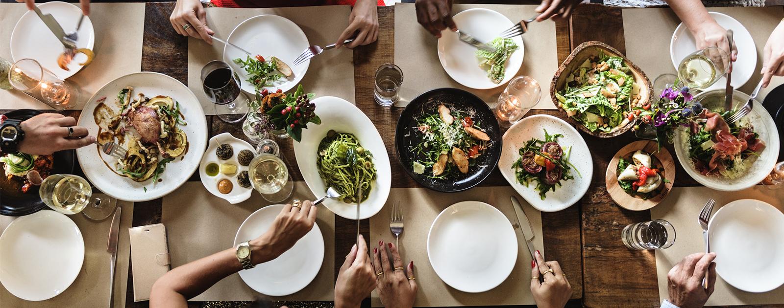 Nourriture en partage