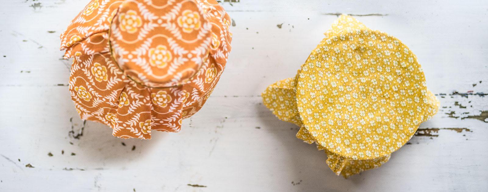 Emballages « zéro-déchet » à la cire d'abeille
