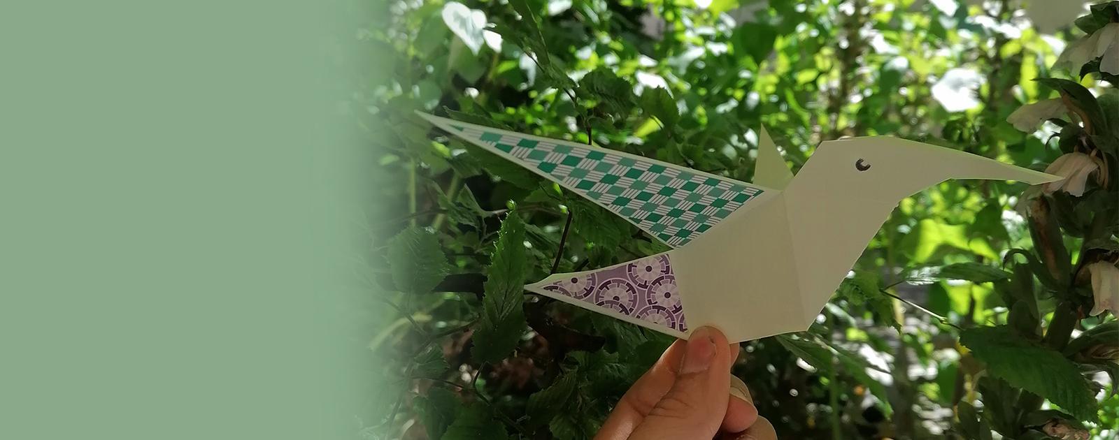 Fabrique tes maxi-origamis