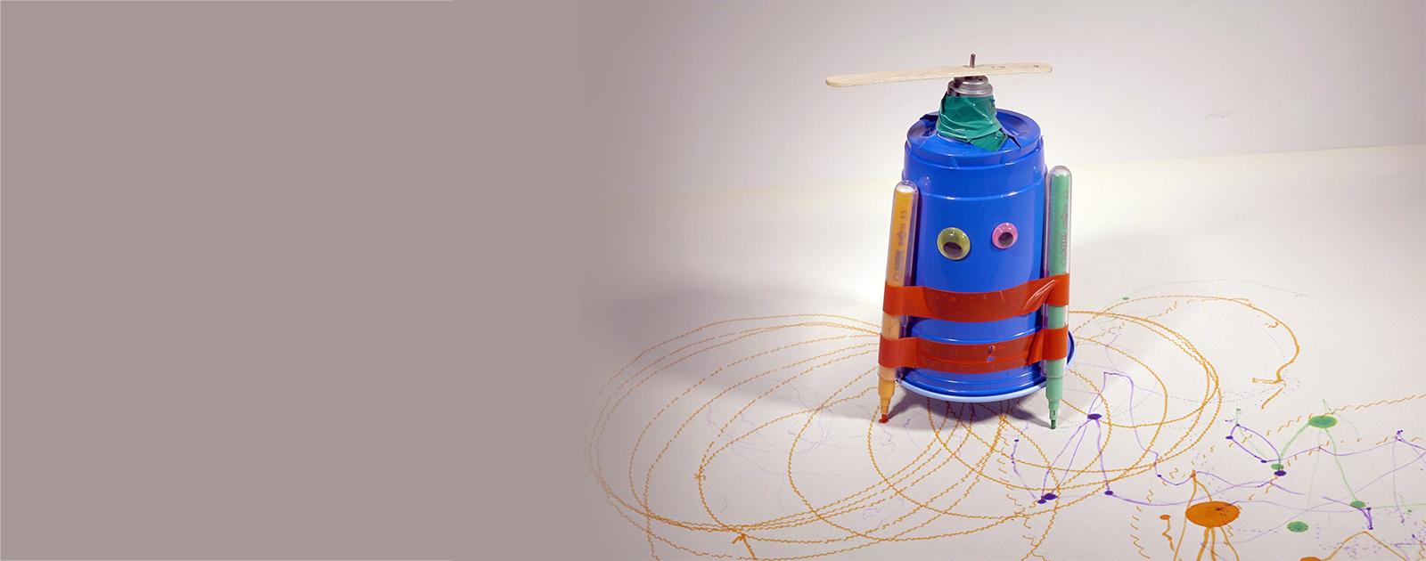 Art'robot : le robot artiste